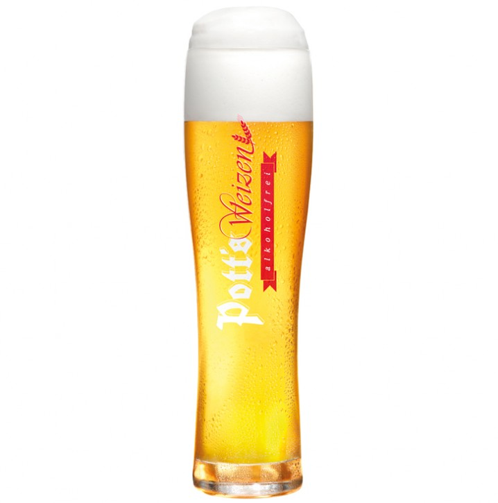Weizenglas alkoholfrei